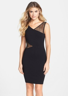 French Connection 'Winona' Lace Inset Body-Con Dress
