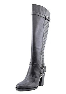 French Connection Women's Avia Motorcycle Boot, Black, 40 EU/9.5 M US