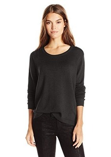 French Connection Women's Bambi Knit Sweater, Black, Medium