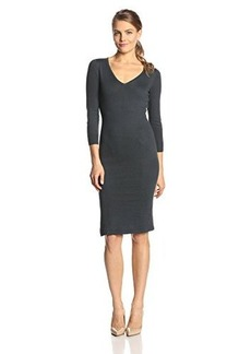 French Connection Women's Bambino V-Neck Sweater Dress