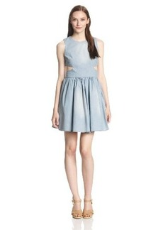 French Connection Women's Blue Ash Dress