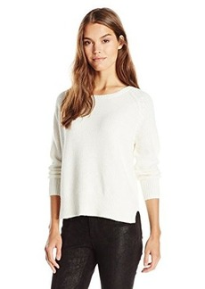 French Connection Women's Candy Knits Sweater, Winter White, Large