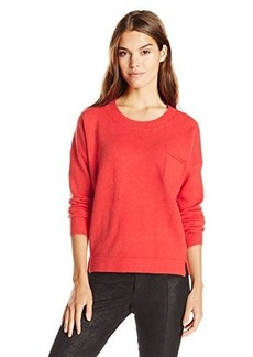 French Connection Women's Clacton Vhari Sweater, Riot Red, Large