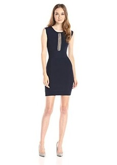 French Connection Women's Cruz Danni Sleeveless Knit Dress, Nocturnal, 8