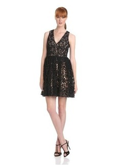 French Connection Women's Daisy Chain Lace Dress