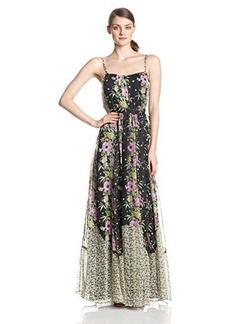 French Connection Women's Desert Tropicana Chiffon Printed Dress