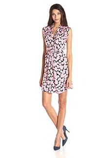 French Connection Women's Eddy Bloom Jersey Printed Dress, Multi, 8