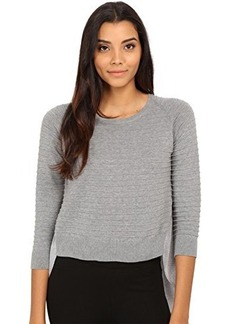 French Connection Women's Effie Knits Sweater, Grey Melange, X-Small