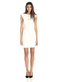 French Connection Women's Estelle Stretch Dress, White, 12