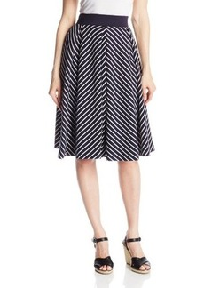 French Connection Women's Fast Suki Stripe Skirt