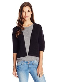 French Connection Women's FT Erin Pleat Sweater, Black, Small