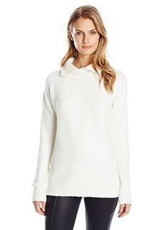 French Connection Women's FT RSVP Knits Turtleneck Sweater, Winter White, Medium