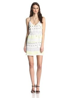 French Connection Women's Geo Flash Sequin Dress
