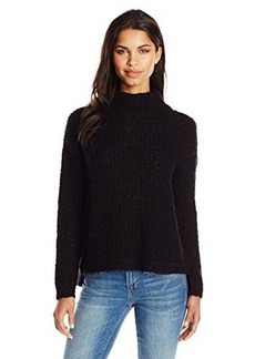 French Connection Women's Hester Knits Sweater, Black, Large