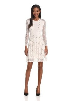 French Connection Women's Hot Spot Lace Dress