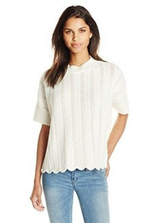 French Connection Women's Iris Knits Sweater, Winter White, Small
