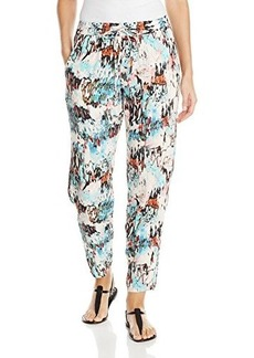 French Connection Women's Isla Ripple Printed Soft Pants