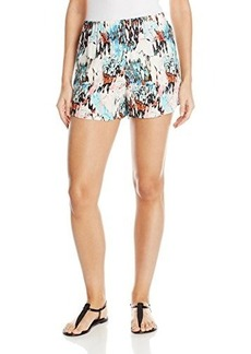 French Connection Women's Isla Ripple Shorts, Day Dream Multi, 2