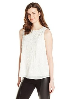 French Connection Women's Kiko Stitch Top, Summer White, 0
