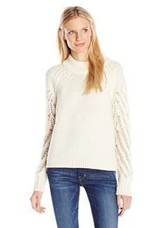 French Connection Women's Kora Knits Sweater, Winter White, Large