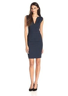 French Connection Women's Lolo Stretch Dress, Nocturnal, 12