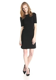 French Connection Women's Marie Stretch Short-Sleeve Dress