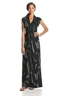 French Connection Women's Meadow Big Brushstroke Jersey Maxi Dress