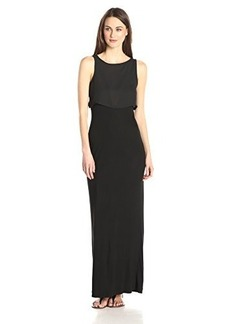 French Connection Women's Midas Maxi Dress, Black, 12