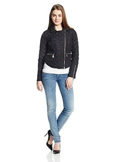 French Connection Women's Moto Quilted Jacket