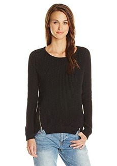 French Connection Women's Mozart Rocks Sweater with Zipper Detail