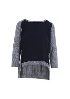 French Connection Women's Odette Sweater, Blue Melange, Small