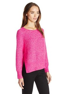 French Connection Women's Otis Chunky Sweater, Ziggy Pink, Medium
