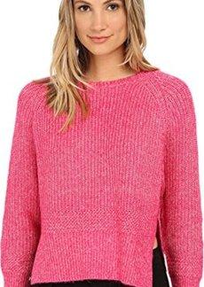 French Connection Women's Otis Chunky Sweater, Ziggy Pink, Medium