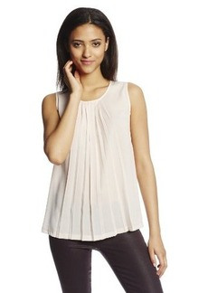 French Connection Women's Polly Plains Pleats Top
