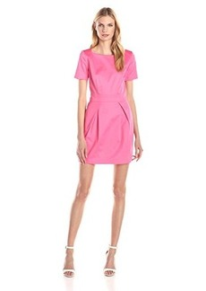French Connection Women's Richie Cotton Dress, Keywest Coral, 2