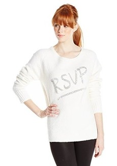 French Connection Women's RSVP Sweater, Winter White, Medium