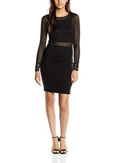 French Connection Women's Sia Dress, Black, 0