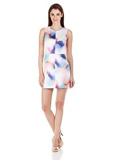 French Connection Women's Soft Spray Printed Sleeveless Dress