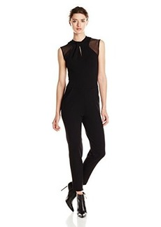 French Connection Women's Tania Tuck Jumpsuit, Black, 10