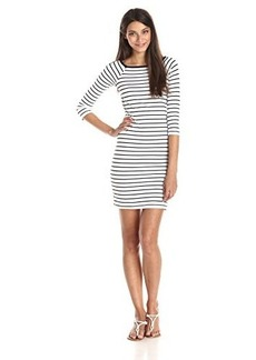 French Connection Women's Tim Tim Stripe Short Sleeve Dress