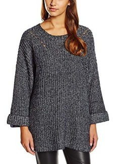 French Connection Women's Verdi Knits Sweater, Utility Blue Melange, Small