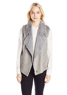 French Connection Women's Winter Rhonda Vest, Grey, 0