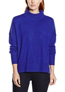 French Connection Women's Ziggy Vhari Mock Neck Sweater, Prince Rocks, Medium