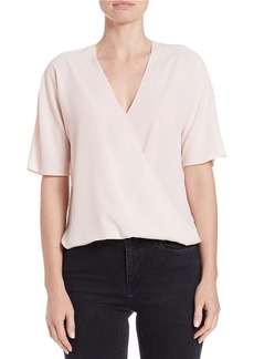FRENCH CONNECTION Wrap Front Blouse