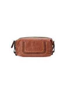 Frye Anna Leather Cosmetic Case