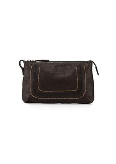 Frye Anna Leather Travel Pouch