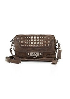 Frye Cameron Studded Leather Crossbody Bag, Taupe