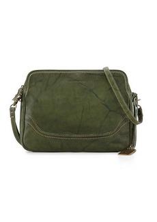 Frye Campus Leather Crossbody Clutch Bag