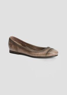 Frye Cap Toe Ballet Flats - Carson Stitch