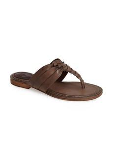 Frye 'Carson' Leather Thong Sandal (Women)